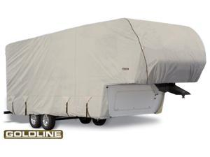 "Goldline Fifth Wheel Trailer Cover - Gray  - Fits 557""L x 106""W x 120""H"