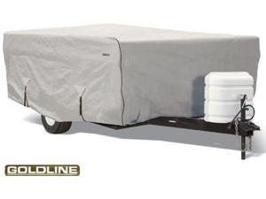 "Goldline Foldling Camper Cover - Gray  - Fits 173""L x 85""W x 54""H"
