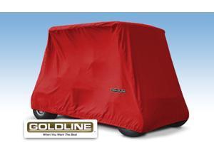 Marine Grade Fabric 2 Passenger Storage Cover / Red