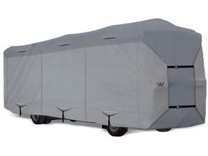 "S2 Expedition Class A RV Cover - fits 31' to 32' Long Trailer - 390""L x 105""W x 120""H"