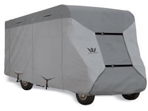 "S2 Expedition Class C RV Cover - fits 31' to 32' Long Trailer - 390""L x 105""W x 108""H"