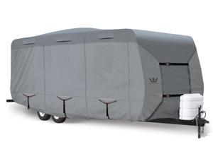 "S2 Expedition Travel Trailer RV Cover - fits 14' to 16' Long Trailer - 197""L x 102""W x 104""H"