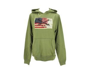 Polo Ralph Lauren Long Sleeve Womens Hoodie Size S US Regular - Green Cotton