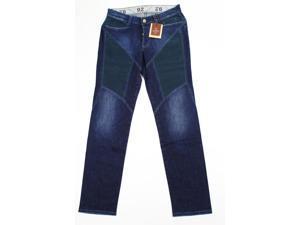 9.2 By Carlo Chionna Men's Blue Classic Straight Leg Pants Size 33 US Regular
