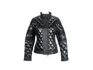 Add Womens Jacket Size 8 US Regular Argyle Black Polyester