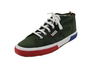 Superga Mens Sneakers Size 11.5 US Green Man Made