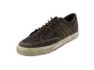 Superga Mens Sneakers Size 9 US / 42 EU Medium (B, M) Brown Leather