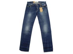 Roy Roger's Mens Classic Straight Leg Jeans Size 33 US Regular Blue Cotton