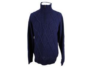 Tommy Hilfiger Mens Turtleneck Sweater Size L US Regular - Blue Cotton
