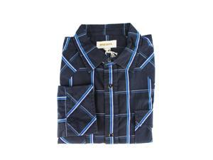 Diesel Mens Casual Shirt Size M US Regular - Blue