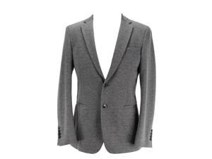 Manuel Ritz Men's Grey Two Button Suit - Jacket Size Regular