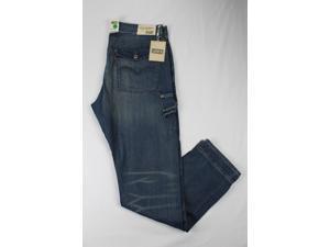 Levi's Mens Cargo Jeans Size 36 Regular Blue Cotton