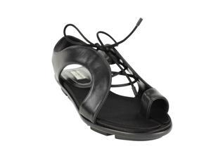 Balenciaga Womens Open Toe Sandals Size 5.5 US / 35.5 EU Black