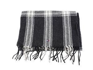 Tommy Hilfiger Mens Scarf Grey Virgin Wool