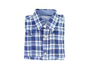 Barbour Mens Casual Shirt Size S US Regular Plaids & Checks Blue