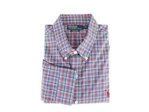 Polo Ralph Lauren Mens Casual Shirt Size XL US Regular Plaids & Checks Blue