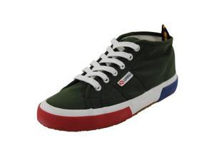 Superga Mens Sneakers Size 5 US Green Man Made