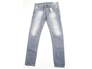 Diesel Mens Classic Straight Leg Jeans Size 33 US Regular Grey Cotton