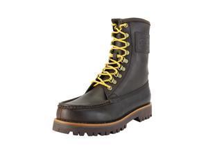 Ralph Lauren Mens Hiking Boots Size 7 US / 40 EU Wide (C, D, W) Brown Calf