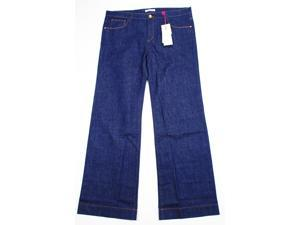 See By Chloe Womens Wide Leg Jeans Size 33 Regular Blue Cotton