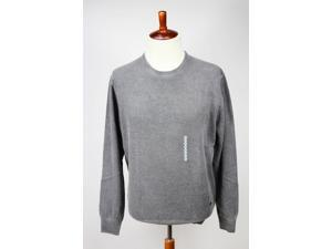 Heritage Mens Crewneck Sweater Size XXL US Regular Grey Virgin Wool