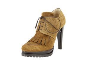 Giorgio Armani Womens Ankle Boots Size 7.5 US / 37.5 EU Brown
