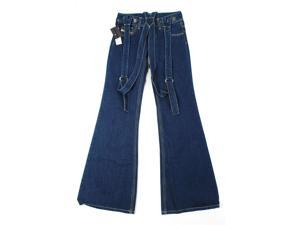Diesel Womens Flared Jeans Size 25 Regular Blue Cotton