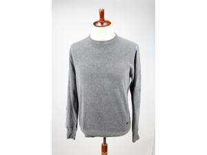 Heritage Mens Crewneck Sweater Size 58 Regular Grey Virgin Wool