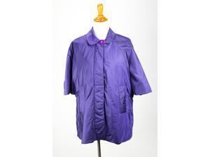 Aspesi Womens Poncho Size L US Regular - Purple Polyamide