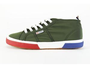 Superga Cisco Bonded Green Fashion Sneakers Men's Shoes, 12