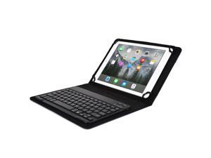 """Cooper Cases(TM) Backlight Executive Universal 9"""" - 10"""" inch Tablet Bluetooth Keyboard Folio in Blue (PU Leather, Removable Keyboard w/ LED Backlight&#59; Display Stand)"""