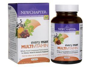 New Chapter Every Man Multivitamin 24 Tabs