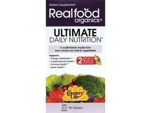 Country Life Realfood Organics Ultimate Daily Nutriti 90 Tabs