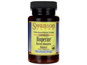 Swanson Bioperine Nutrient Absorption Enhancer 10 mg 60 Caps