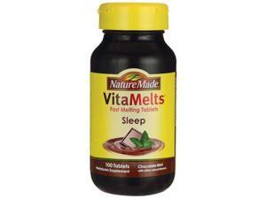 Nature Made Vitamelts Sleep - Chocolate Mint 100 Tabs