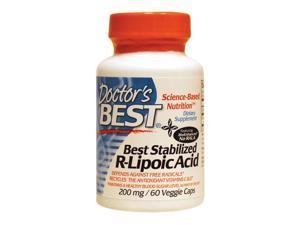 Best Stabilized R-Lipoic Acid 200mg - Doctors Best - 60 - VegCap