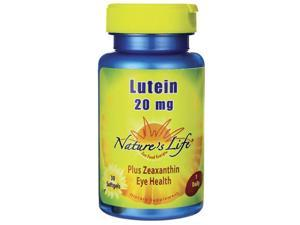 Nature's Life Lutein 20 mg 30 Sgels