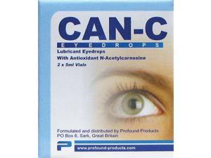Can-C Lubricant Eye Drops with N-Acetylcarnosi 2 / 5 ml Vials