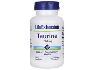 Life Extension Taurine 1,000 mg 90 Veg Caps