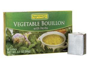 Rapunzel Vegetable Bouillon with Herbs 8 Ct