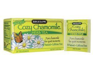 Bigelow Tea Caffeine Free Herb Tea - Cozy Chamomile 20 Bag(S)