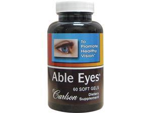 Able Eyes - Carlson Laboratories - 60 - Softgel