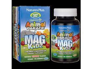 Nature's Plus Animal Parade Mag Kidz - Cherry Flavor 100 mg 90 Chwbls
