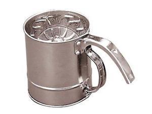 Fox Run 1-Cup Stainless Steel Flour Sifter