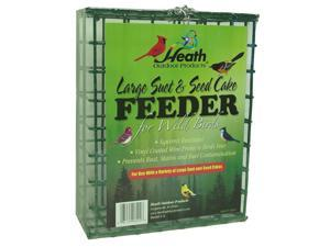 Heath Outdoor Products S-4 Large Suet and Seed Cake Feeder