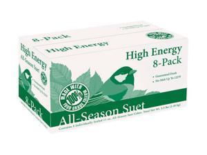 heath manufacturing co dd4-8 8 Pack, 11.25 OZ, High Energy Suet Cake