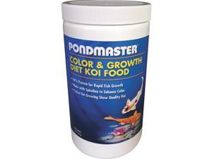 PondMaster 2 Lb Color Enh Fish Food