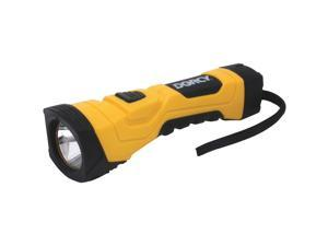 Dorcy 41-4750 180 Lumen LED flashlight 4AA Hardware - Yellow/Black