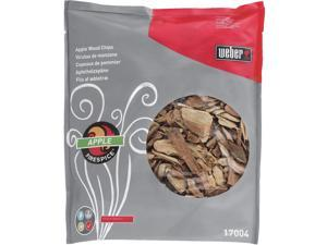 weber 17004 Apple Wood Chips 3 lb. Bag