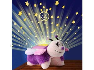 Pillow Pets Dream Lites - Pink Butterfly 11""